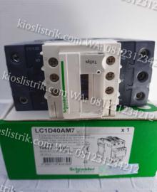 contactor schneider lc1d40am7