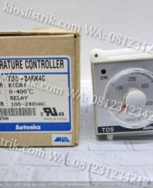 temperature controller TOS autonics