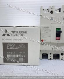 No- Fuse Breaker NF250-CV Mitsubishi