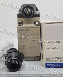 Omron Limit Switch D4A-4918N